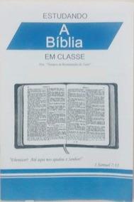 15 Revistas Estudando A Biblia Em Classe 1º Semestre 2019