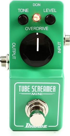 Pedal P/ Guitarra Ts Mini Tube Screamer Mini Pedal -ibanez