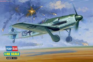 Focke Wulf Fw-190d 12 Kit Hobby Boss Avião 1/48 P/ Montar