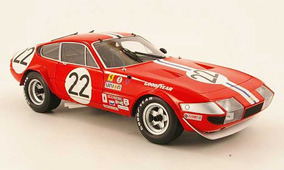 Ferrari 365 Gtb4 #22 1971 Daytona Competizione 1/18 Kyosho