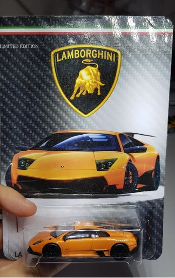 Lamborghini Murcielago Sv - Rmz - N Hot Wheels - Custom