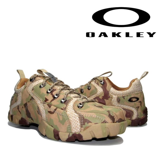 Tênis Oakley Masculino Couro Flak Low 1.2 Frete Grátis!