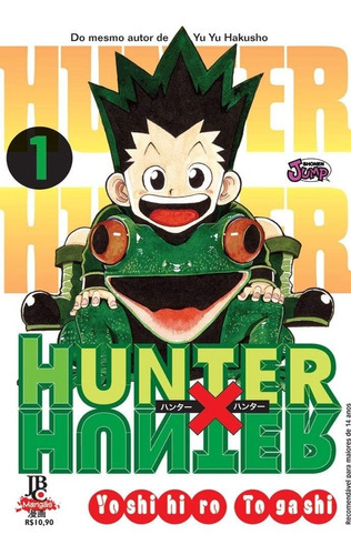 Hunter X Hunter 1 Relançamento! Mangá Jbc! Novo E Lacrado