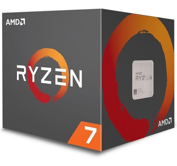 Processador Amd Ryzen 7 2700 Cache 20mb 3.2ghz (4.1ghzturbo)