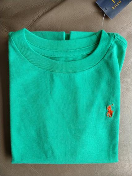 Kit De 3 Camisetas Infantil Ralph Lauren Menino - Importada