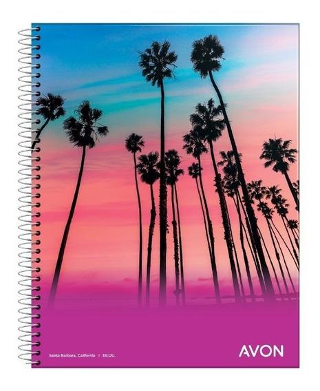 5 Cuadernos Espiral A4 Avon 84 Hojas Rayado O Cuadriculado