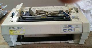 Impresora Epson Fx870 De Punto Color Crema Monocromatica