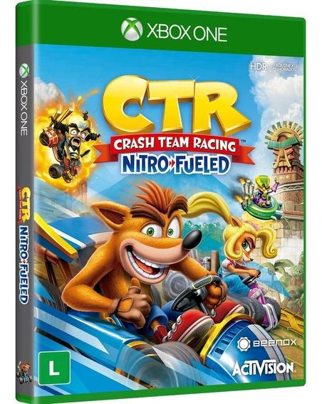 Crash Team Racing - Xbox One ( Novo, Lacrado, Mídia Fisica)