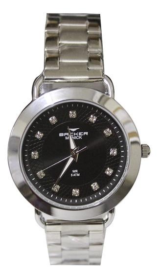 Relógio Feminino Backer Analógico 3986123f - Prata