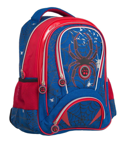 Mochila Infantil Escolar Aranha Spider - Convoy( Ys42033 )
