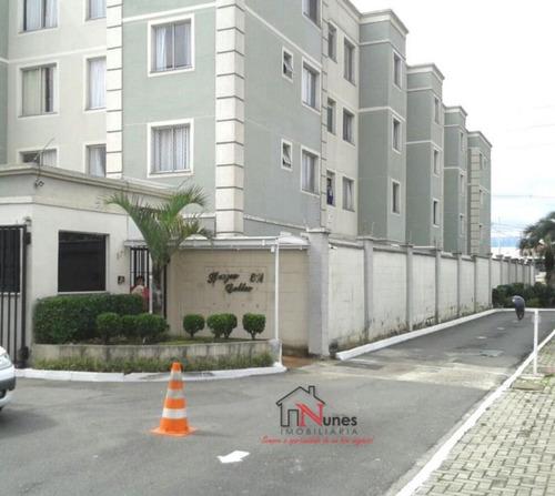 Apartamento No Bairro Cidade Jardim Em São José Dos Pinhais Pr - 15773