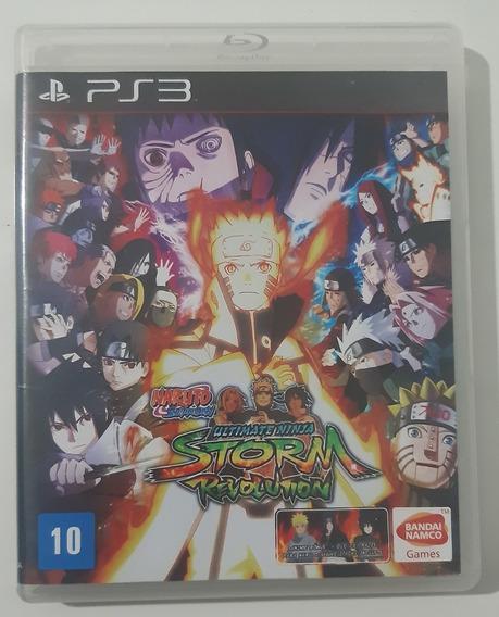 Naruto Ultimate Ninja Storm Revolution - Ps3 - Midia Fisica