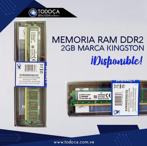 Memoria 2gb Ddr2 800 Compatible Con 667/533 Nuevas