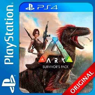 Ark Survival Evolved + Scorched Earth Ps4