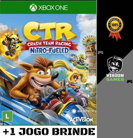 Crash Team Racing Nitro-fueled + Dlcs - Xbox One M. Digital