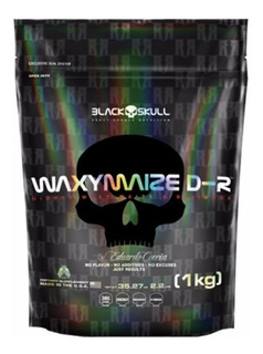 Waxymaize D-ribose 1kg - Black Skull - 3 = Frete Grátis