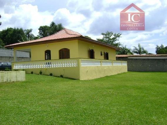 Chácara Com 3 Dormitórios À Venda Por R$ 600.000,00 - Tijuco Preto - Cotia/sp - Ch0024