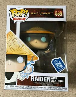 Raiden With Lightning Mortal Kombat Exclusive Funko Pop