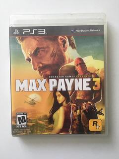 Max Payne 3 Ps3 Seminuevo