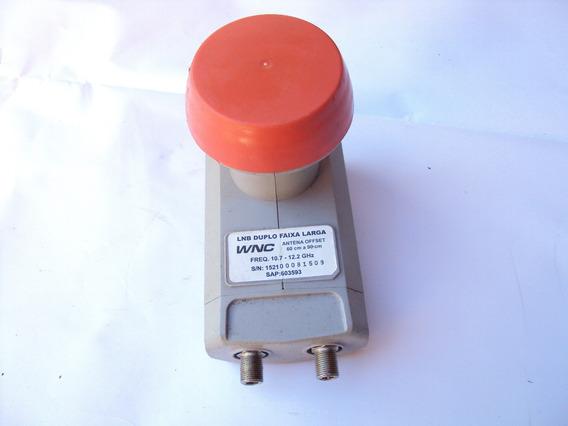 Lnb Duplo Faixa Larga Freq. 10.7 - 12.2 Ghz