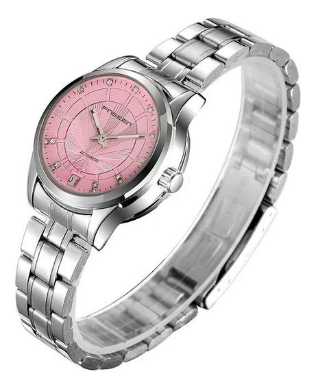 Relógios Fngeen, Automático E A Corda Feminino Modelo 8818