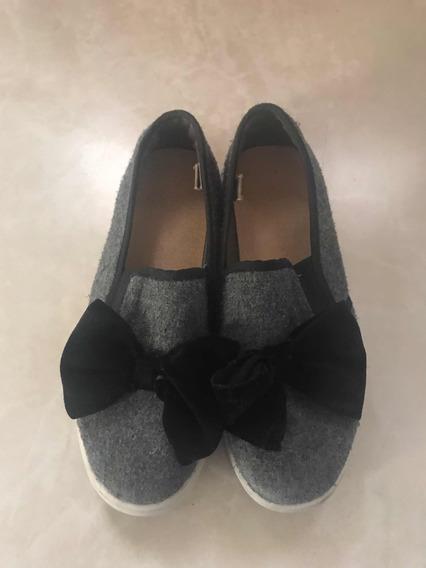 Zapato Gris Para Niña