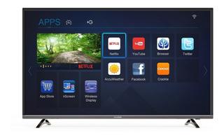 Smart Led Tv 55 Hyundai Ultra Hd (uhd) 4k - Gtia. Oficial