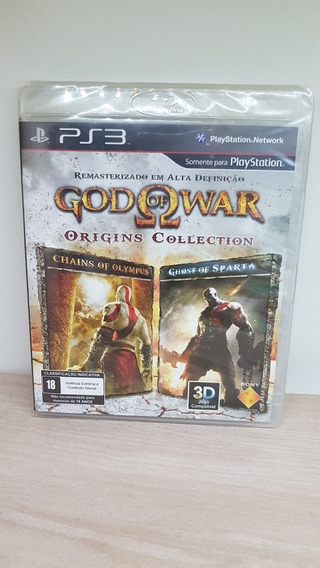 God Of War Origins Collection Ps3 Novo Lacrado Raridade