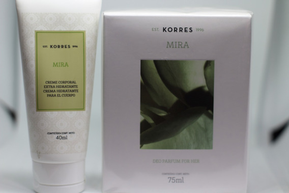 Perfume Mira Korres 75ml+creme Corporal 40ml Grátis Val.2021