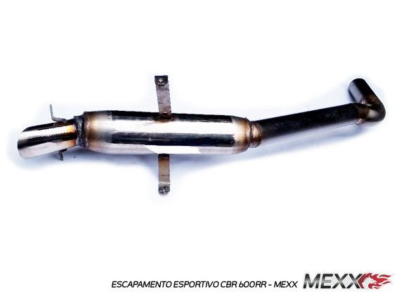 Ponteira Esportivo Modelo Original Honda Cbr600 Mexx Cod.145