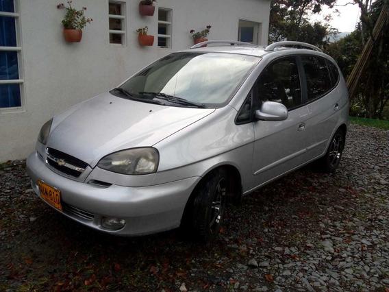 Chevrolet Vivant Lt 2.0 Gris Plata 5 Puertas