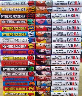 My Hero Academia -tomo 1 Al 18 Ivrea - Kohei Horikoshi Manga