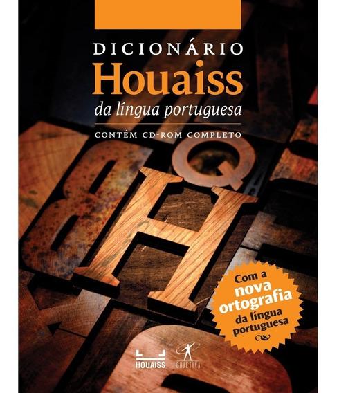 Livro Dicionário Houaiss Da Lingua Portuguesa - Objetiva
