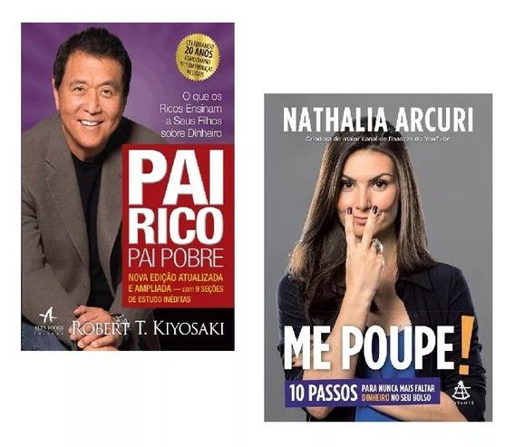 Kit Livros - Pai Rico + Me Poupe - Lacrados