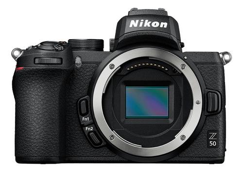 Nikon Z 50 sin espejo color  negro
