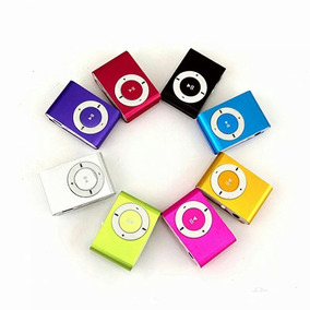 20 Mini Mp3 Mp4 Player Clip Fm Cabo Usb Fone Completo Barato