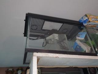 Pecera 40l 50x30x25cm C/lampara Y Filtro No Envio