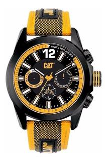 Reloj Cat Yo.169.64.124 Empavonado Malla Nylon Sumergible