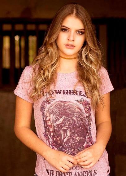 T-shirt Feminina Tee Dakota Miss Country