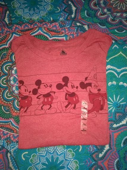 Playera Mickey Mouse Disney Store Original Hombre