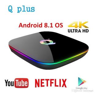 Android Tv Box 4gb Ram 32gb Android 9. Garantia 1 Año Tienda