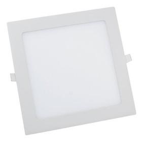 Kit 10 Plafon Led 25w Luminária Embutir Natural 4000k 4500k