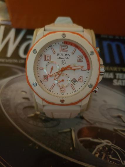 Reloj Bulova Marine De Cuarzo Original No Mido Tissot Nivada