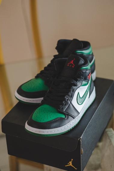 Nike Air Jordan 1 Green Toe (comprado Na Maze, Com Nf)