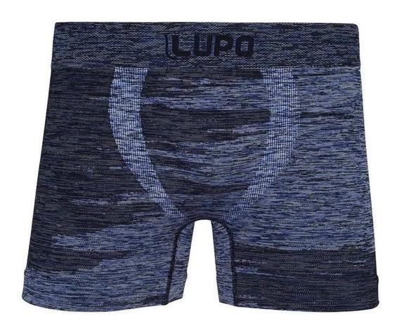 Cueca Boxer Microfibra 542-009 Cor Azul Lupo