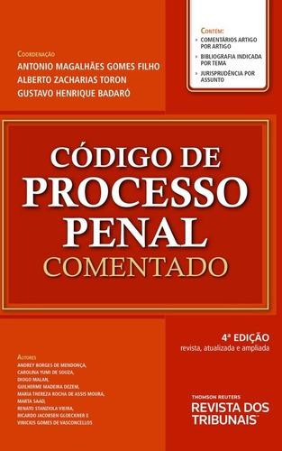 Imagem 1 de 1 de Código De Processo Penal Comentado 4ºedição 2021
