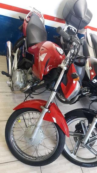 Honda Cg 150 Fan Esdi 2014 Vermelha Financio E Troco
