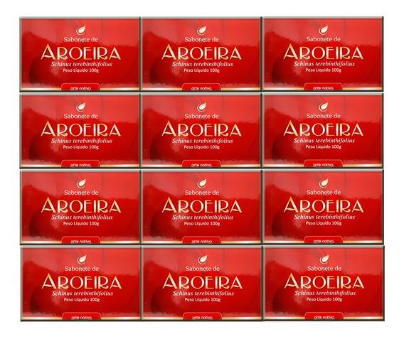 Sabonete Aroeira 100g 12 Unidades - Arte Nativa