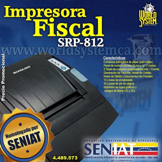 Impresora Fiscal Bixolon 812