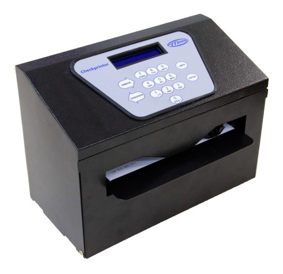 Impressora De Cheque Usb Checkprinter Display Lcd Menno